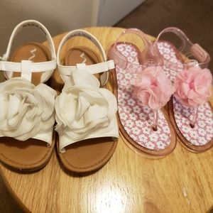 Other - Girls sandals 2 pairs